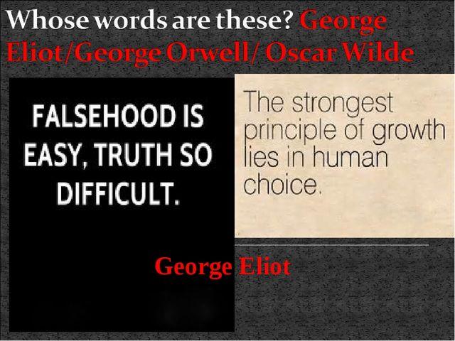 George Eliot