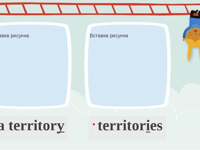 a territory territories