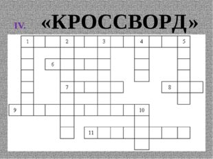 «КРОССВОРД»