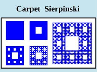 Carpet Sierpinski