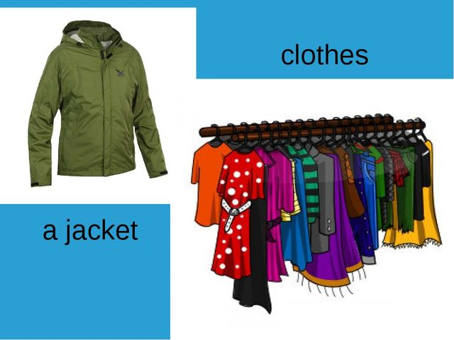a jacket clothes