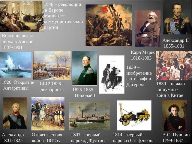 1807 – первый пароход Фултона Александр I 1801-1825 Отечественная война 1812...