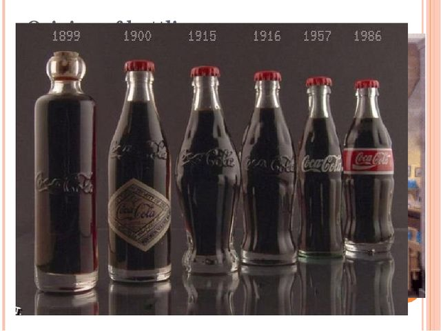 Origins of bottling