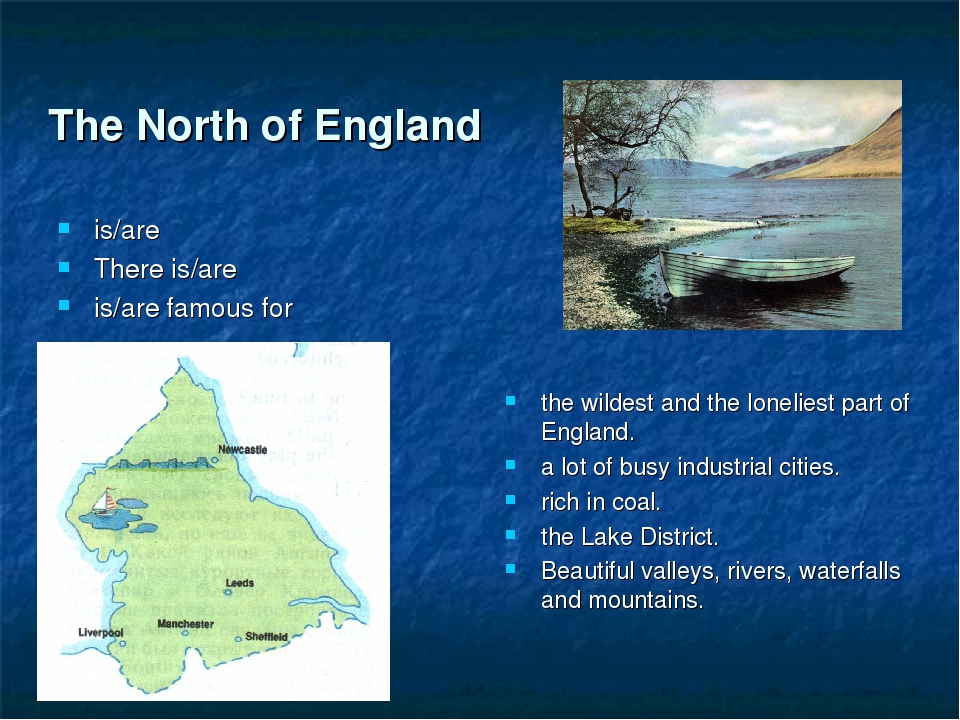 The North of England the wildest and the loneliest part of England. a lot of...