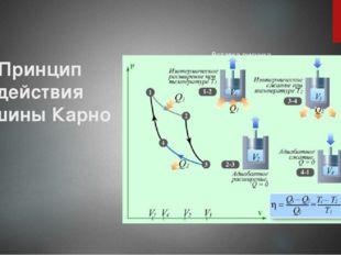 Принцип действия машины Карно