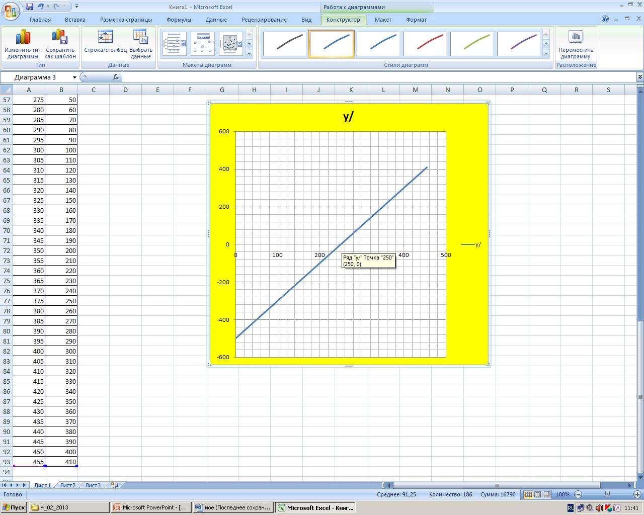 Процентная диаграмма в Excel инструкция по созданию 22