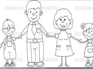 Задания для закрепления: Семья Л. состоит из шести человек: отец, мать, четве