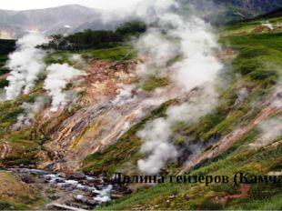 Долина гейзеров (Камчатка)