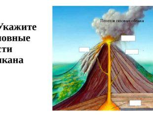 8. Укажите основные части вулкана а)… б)… в)… г)… а) б) в) г)