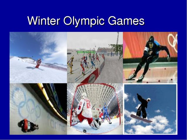 Winter Olympic Games