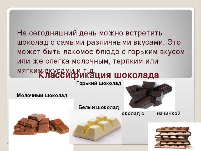 На сегодняшний день можно встретить шоколад с самыми различными вкусами. Это...