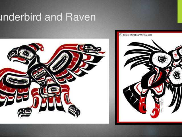 Thunderbird and Raven