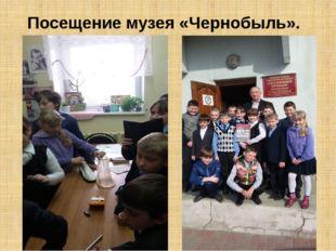 Посещение музея «Чернобыль».
