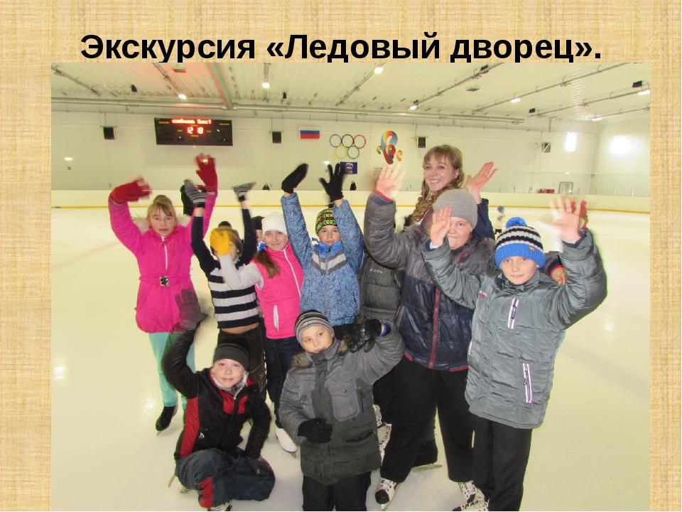 Экскурсия «Ледовый дворец».