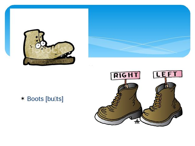 Boots [buːts]
