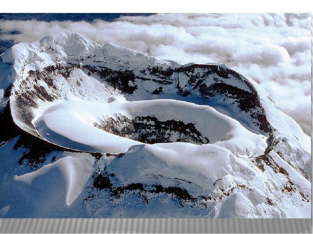 «Котопахи», где находятся одноименные действующие вулканы.