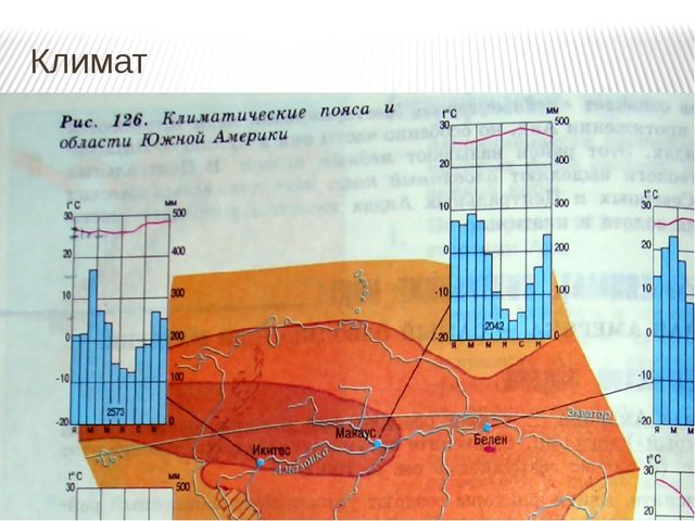 Климат Климатическиеусловия.Субэкв(сер) и Экватор-йДля Северных Анд характе...