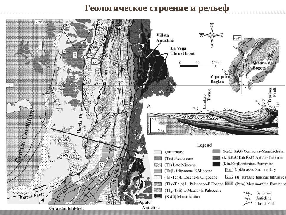 Геологическоестроениеи рельеф Геологическоестроениеи рельеф. Структура и...
