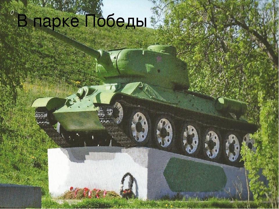 В парке Победы