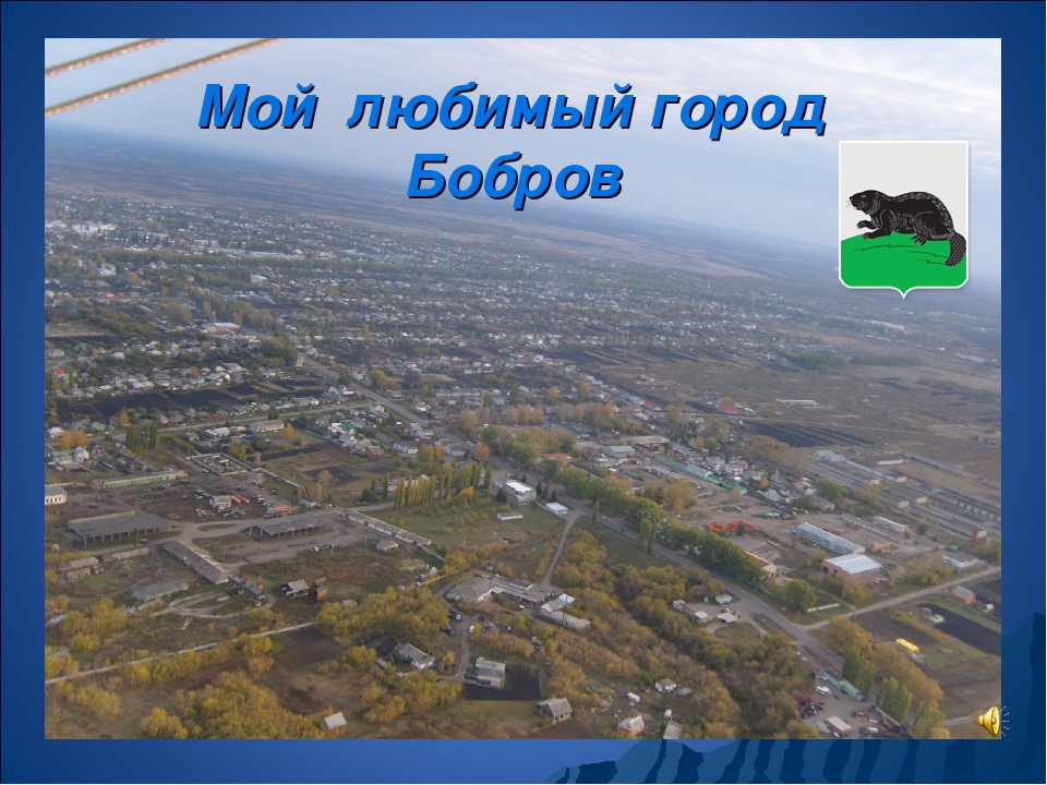 Мой любимый город Бобров