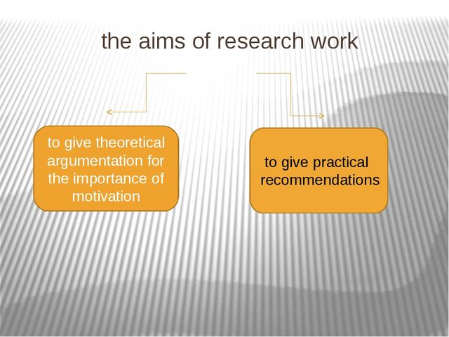 the aims of research work to give theoretical argumentation for the importanc...