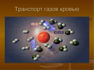 Транспорт газов кровью