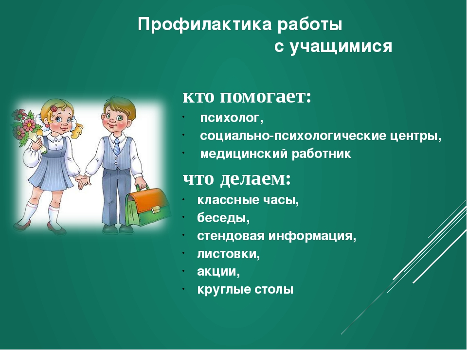 Профилактика работы с учащимися кто помогает: психолог, социально-психологиче...