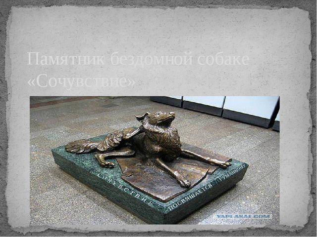 Памятник бездомной собаке «Сочувствие»