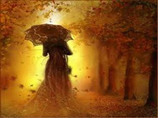 Сама осень напоминает мне сказочную красавицу, её