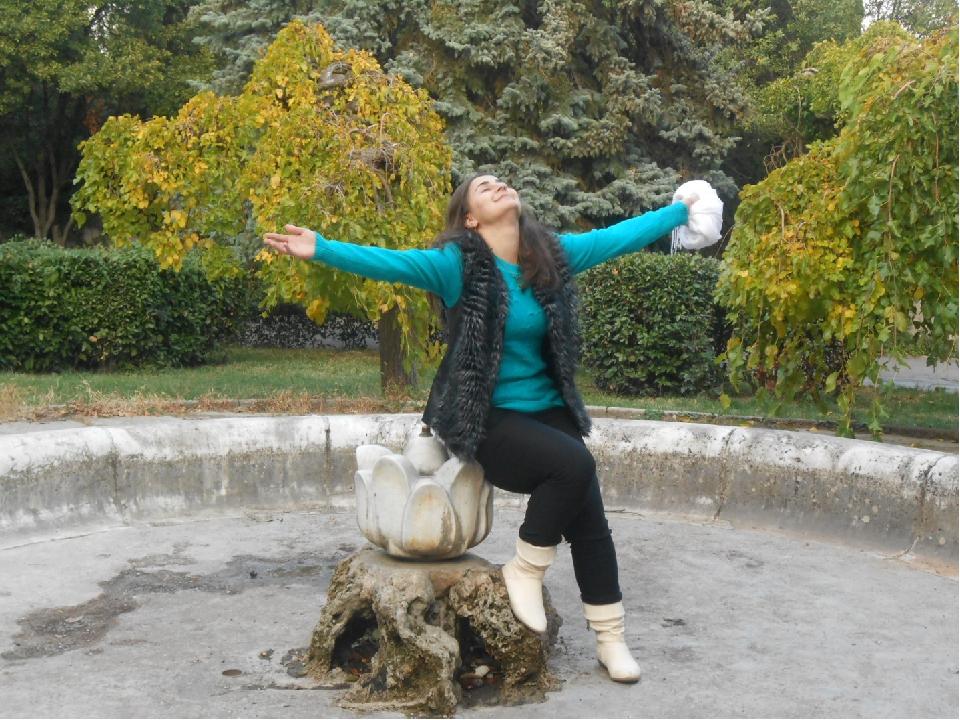 Осень - вдохновляющая пора, когда люди могут просто мечтать.