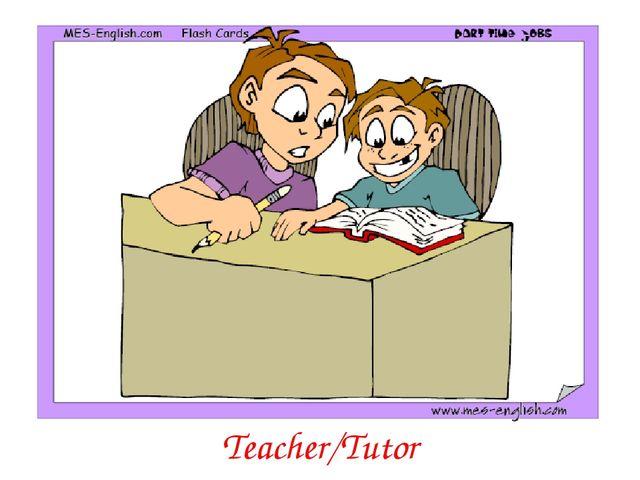 Teacher/Tutor