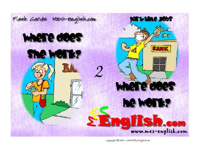Copyright © 2005 – 2006 MES-English.com 2
