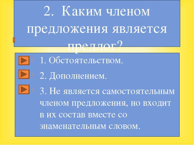 1. Обстоятельством. 2. Дополнением. 3. Не является самостоятельным членом пр...