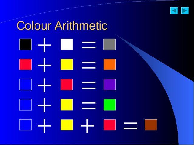 Colour Arithmetic