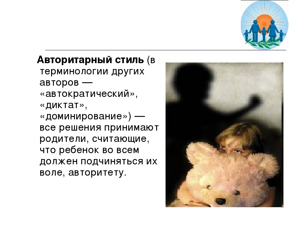 Авторитарный стиль (в терминологии других авторов — «автократический», «дикт...