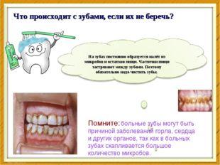 Что происходит с зубами, если их не беречь? Помните: больные зубы могут быть