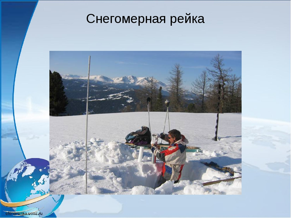 Снегомерная рейка
