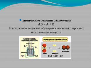 Давайте ознакомимся с классификацией химических реакций, происходящих в приро