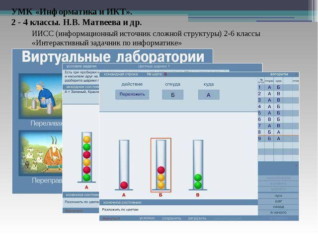 ИИСС (информационный источник сложной структуры) 2-6 классы «Интерактивный за...