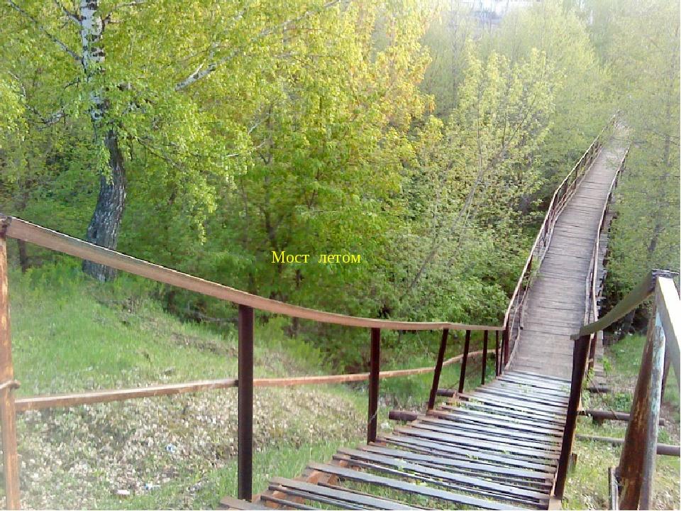 Мост Мост летом