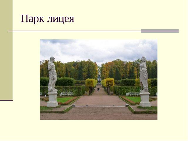 Парк лицея
