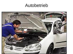 Autobetrieb