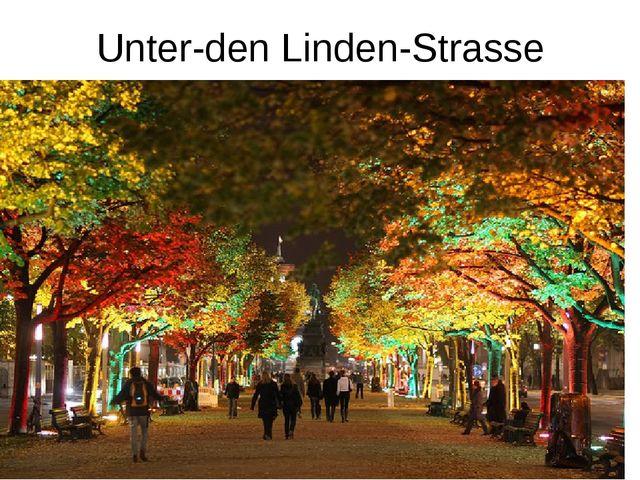 Unter-den Linden-Strasse