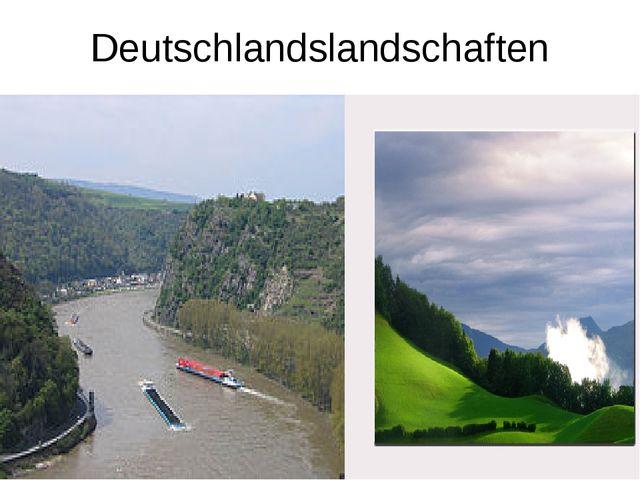 Deutschlandslandschaften