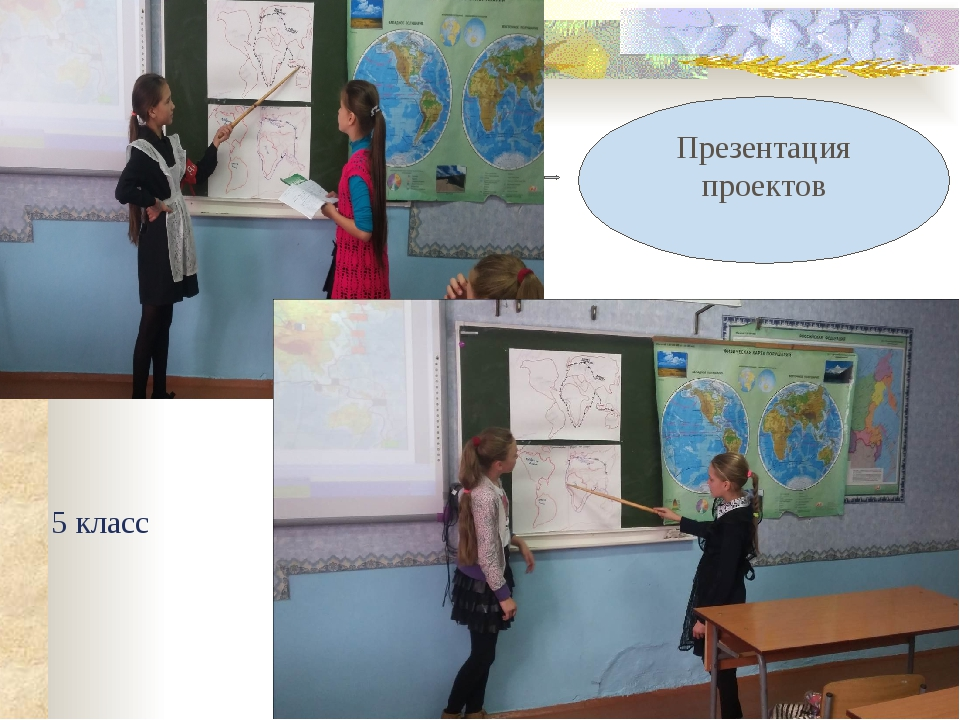 Презентация проектов 5 класс