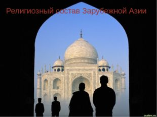 Религиозный состав Зарубежной Азии