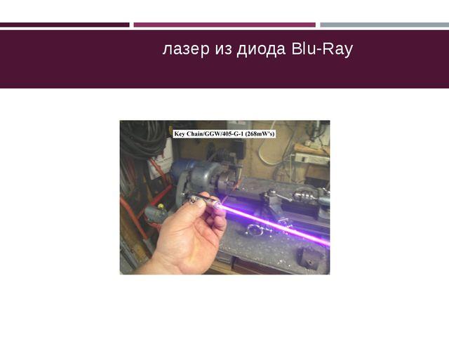 лазер из диода Blu-Ray