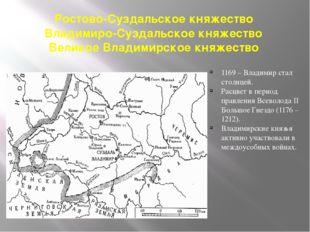Ростово-Суздальское княжество Владимиро-Суздальское княжество Великое Владими