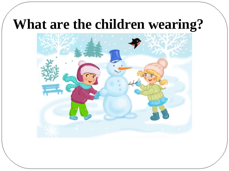 What are the children wearing?