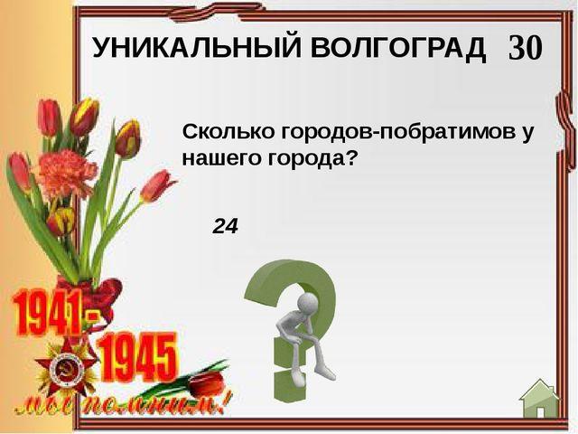 УНИКАЛЬНЫЙ ВОЛГОГРАД 50 Мамаев курган Что называют Главной высотой России?